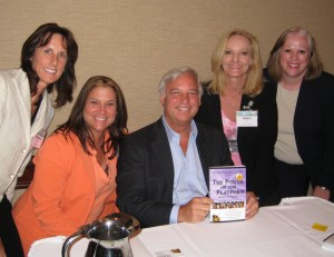 Jack Canfield along with The Power of the Platform coauthors, shows off the latest edition: Speakers on Purpose